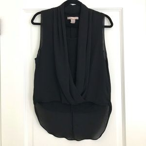 Forever 21 Love21 Black Blouse Size XS